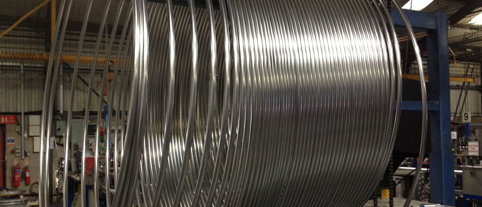 ASTM 304 Seamless stainless steel Coiled Tubing manufacturer and suppliers