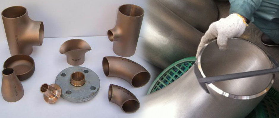 Copper Nickel Pipe Fittings manufacturer and suppliers
