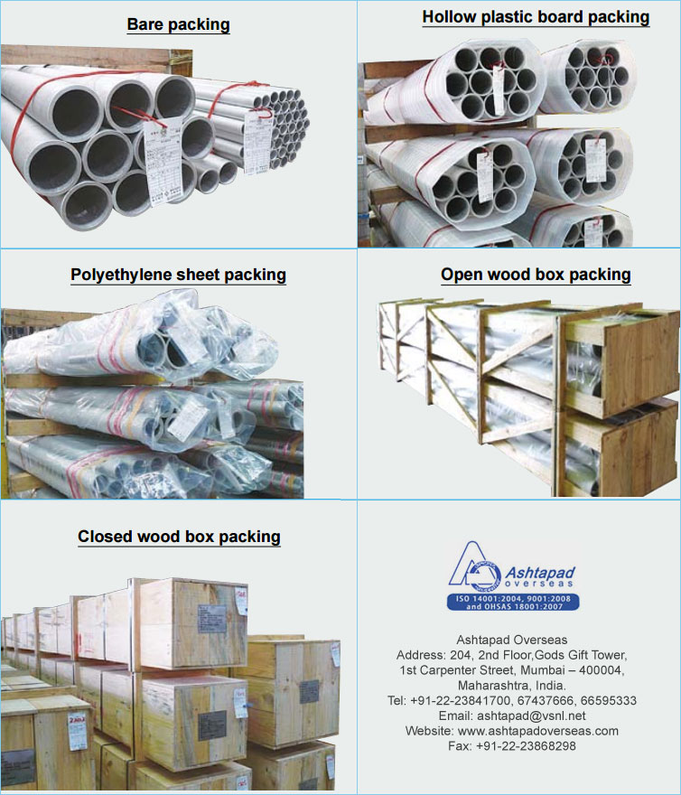 Sumitomo pipe packed