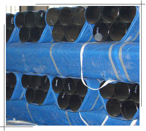 API 5L Grade B X56 PSL2 Seamless Steel Pipe packaging