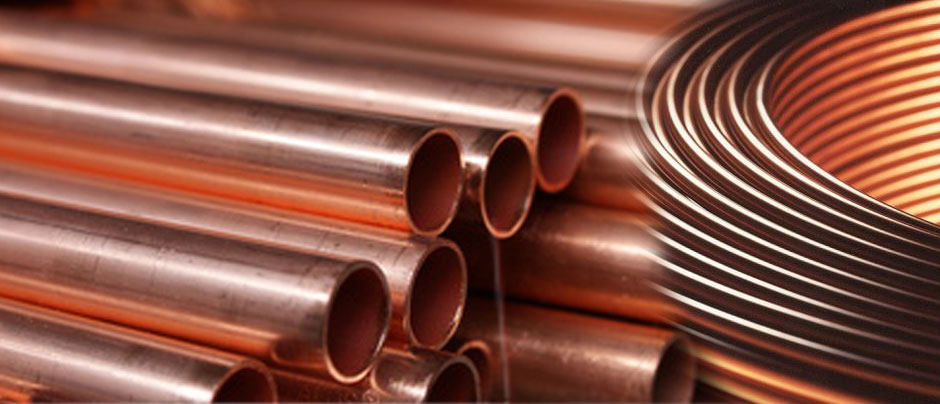 Copper Nickel Pipes / Tubes / Copper Tubing manufacturer and suppliers