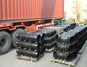ASTM A234 Gr WPB-W Carbon Steel ERW Buttweld Pipe Fittings Packed ready stock