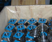 Monel Flanges Packed & ready to ship for Saudi Arabia