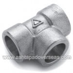 Inconel 600 Equal Tee-Type of Inconel 600 Socket weld fittings