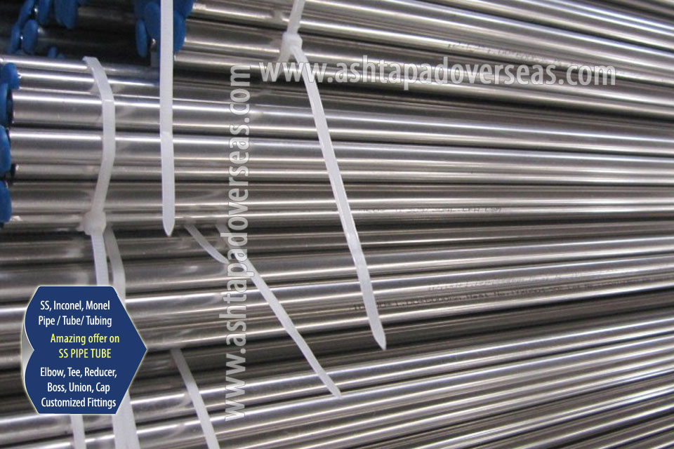 Stainless Steel 316l Pipe / Tubes & 316L Seamless Pipe/ Tube in Our Stockyard