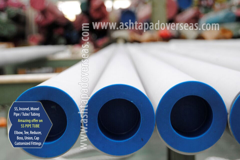 Stainless Steel 347 Pipe / Tubes & 347 Seamless Pipe/ Tube in Our Stockyard