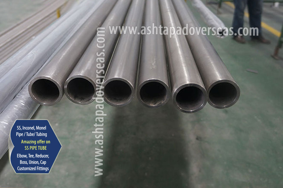 Stainless Steel Pipe & Seamless Pipe/ Tube in Our Stockyard