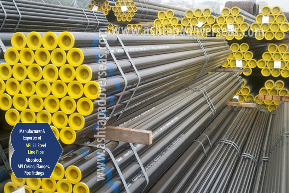 API 5L Grade B Carbon Steel ERW Pipe manufacturer & suppliers | API