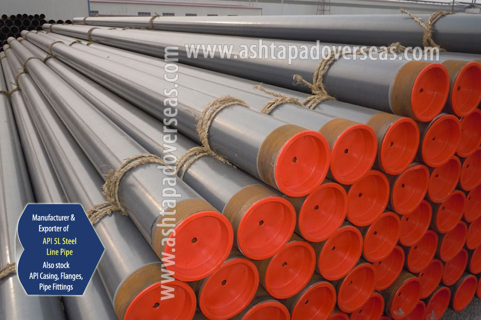API 5L Grade B Pipe ready stock in our Stockyard