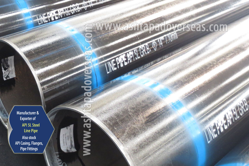API 5L Line Pipe ready stock in our Stockyard