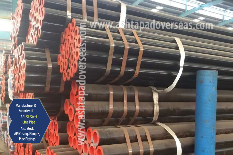 API 5L X42 DSAW Pipe ready stock in our Stockyard