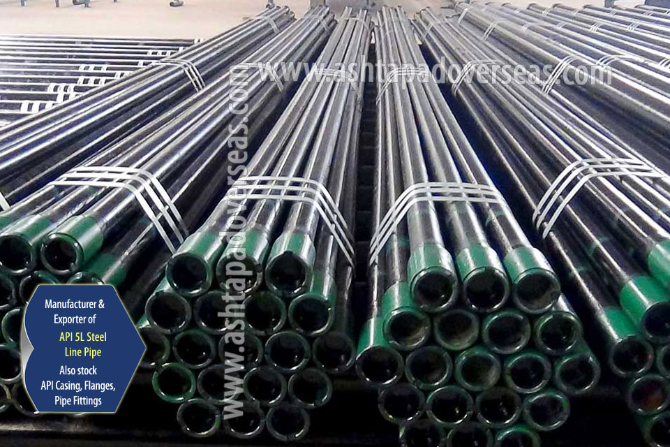API 5L X42 ERW Pipe ready stock in our Stockyard