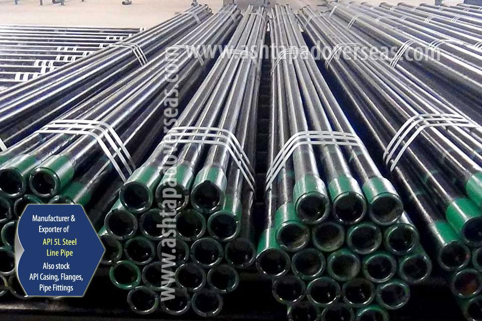 API 5L X42 ERW Pipe ready stock in our Stockyard