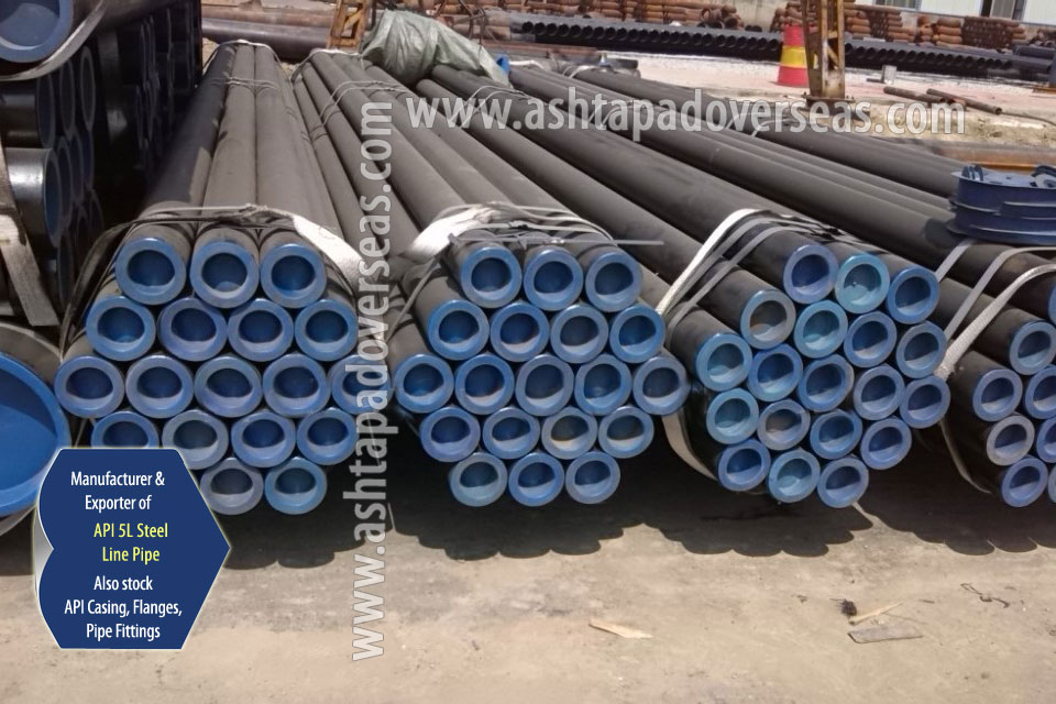 API 5L X42 LSAW Pipe ready stock in our Stockyard