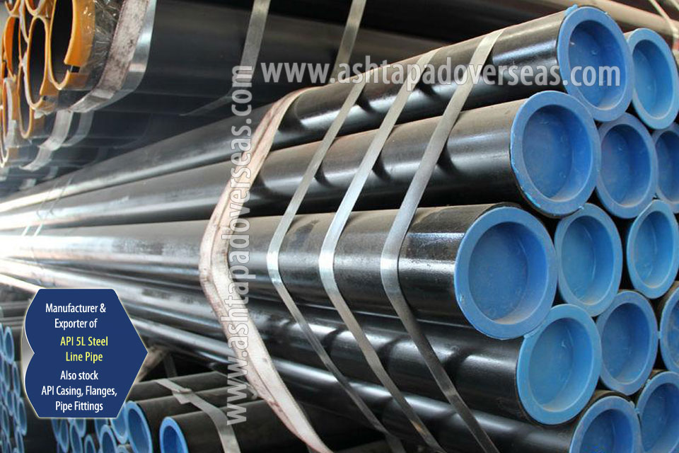 API 5L X42 Pipe ready stock in our Stockyard