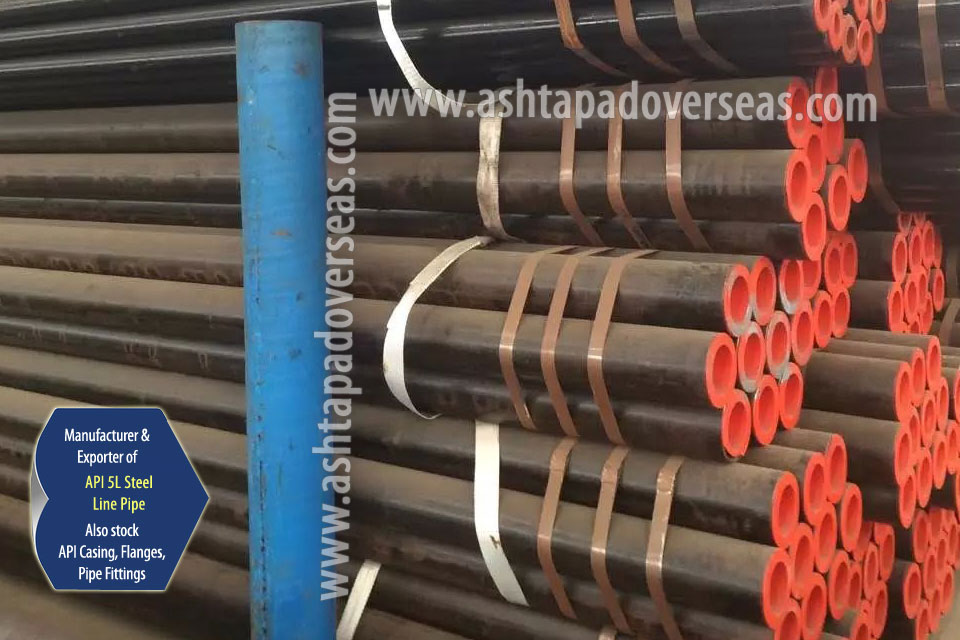 API 5L X42 SAW Pipe ready stock in our Stockyard