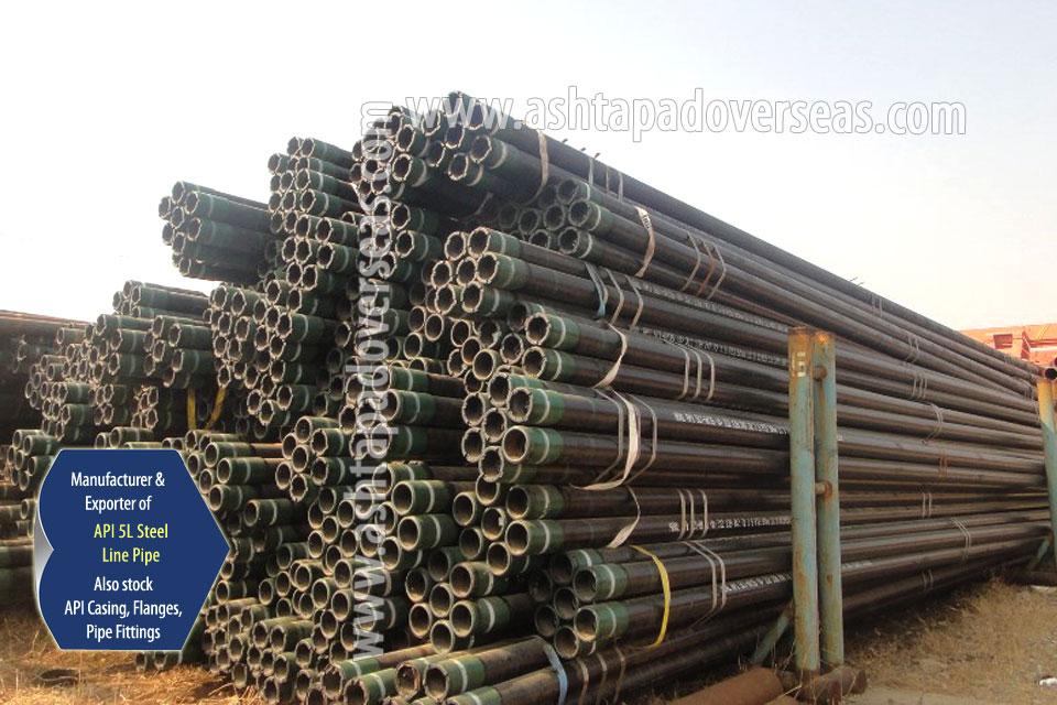API 5L X42 Seamless Pipe ready stock in our Stockyard