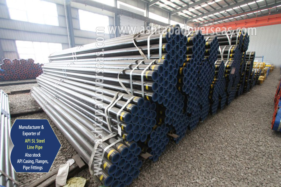 API 5L X42 Welded Pipe ready stock in our Stockyard
