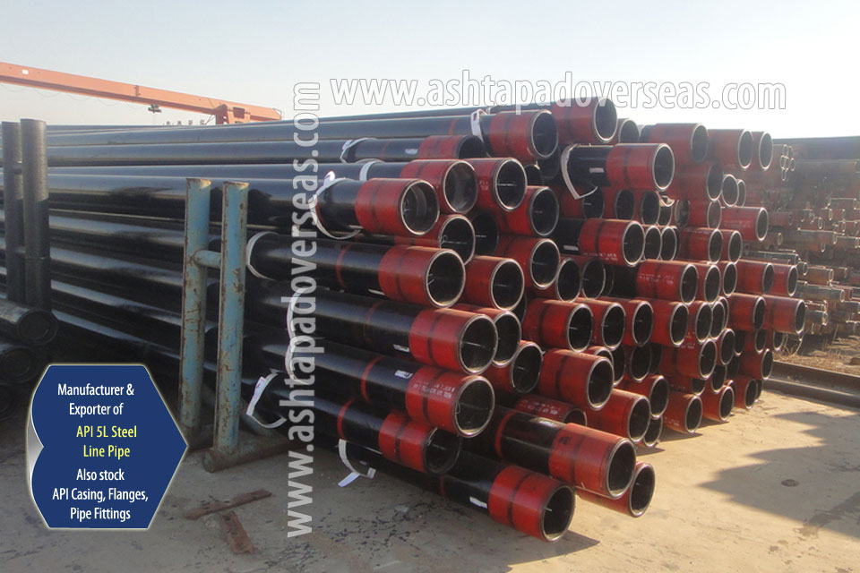 API 5L X46 Line Pipe ready stock in our Stockyard
