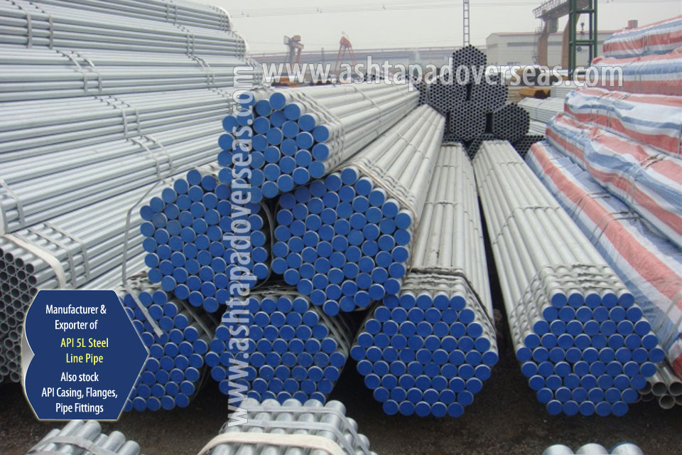 API 5L X46 Pipe ready stock in our Stockyard