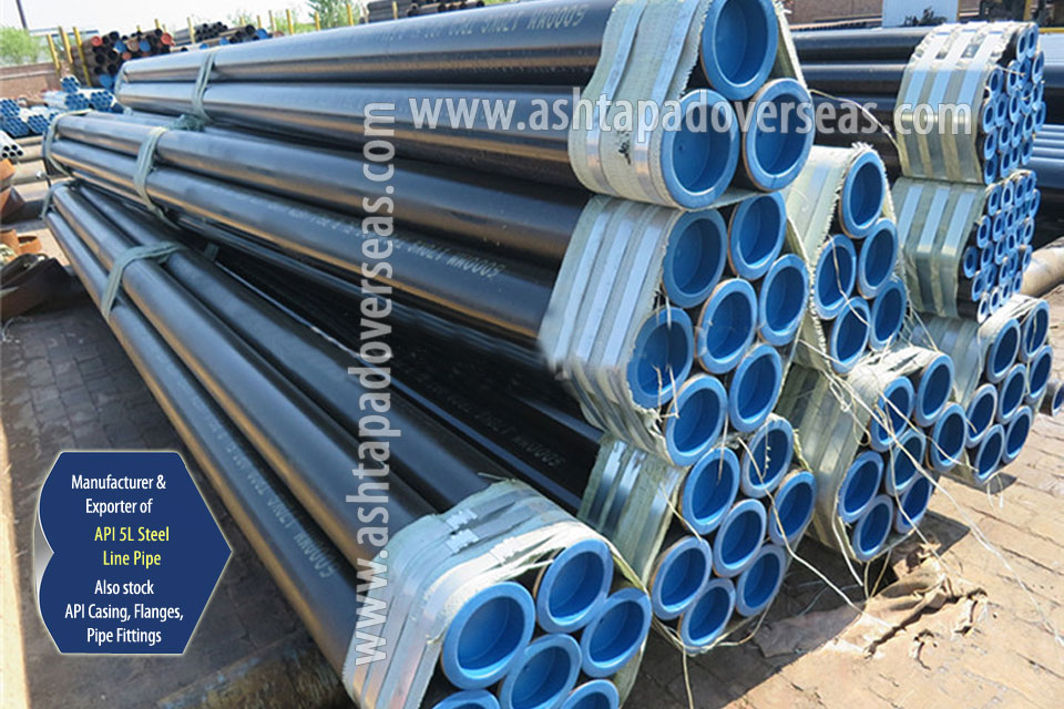 API 5L X46 Seamless Pipe ready stock in our Stockyard