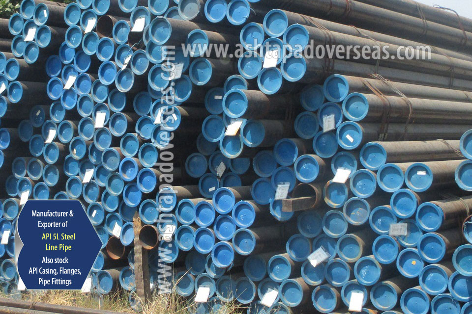 API 5L X46 SSAW Pipe ready stock in our Stockyard