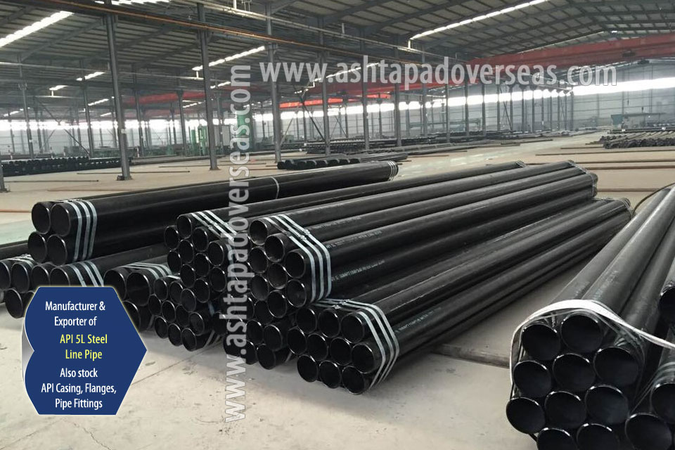 API 5L X46 Welded Pipe ready stock in our Stockyard