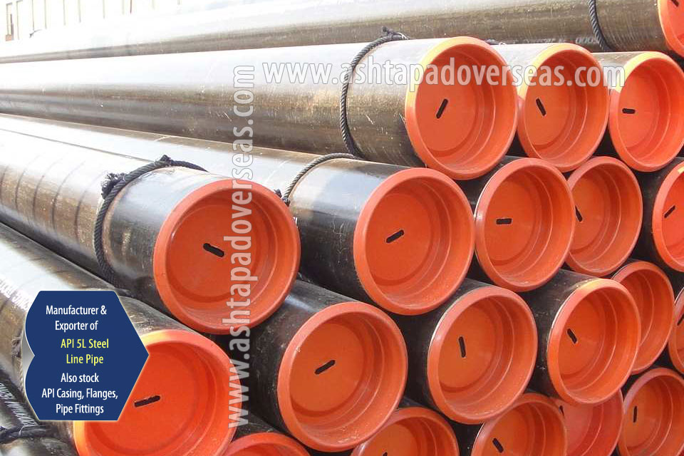 API 5L X52 DSAW Pipe ready stock in our Stockyard