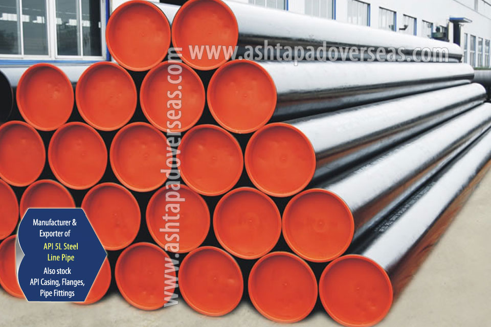API 5L X52 SAW Pipe ready stock in our Stockyard