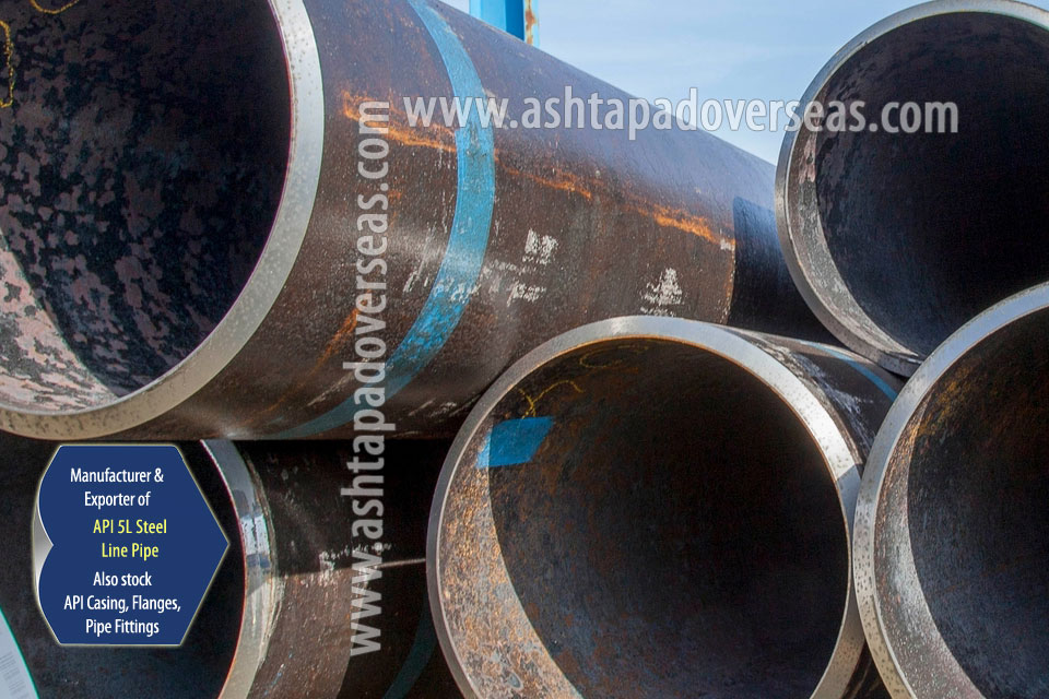API 5L X52 Seamless Pipe ready stock in our Stockyard