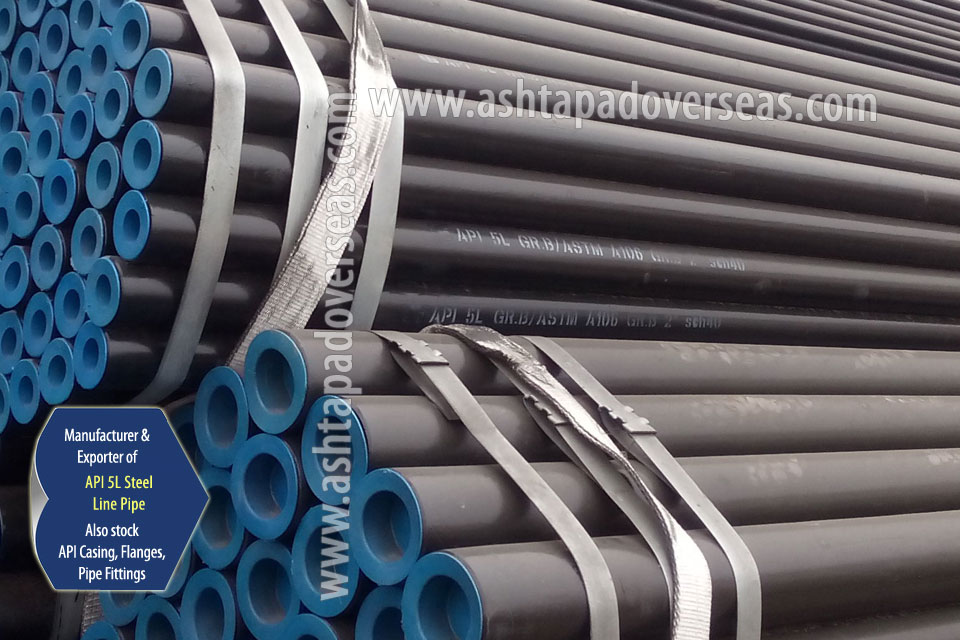 API 5L X52 Welded Pipe ready stock in our Stockyard
