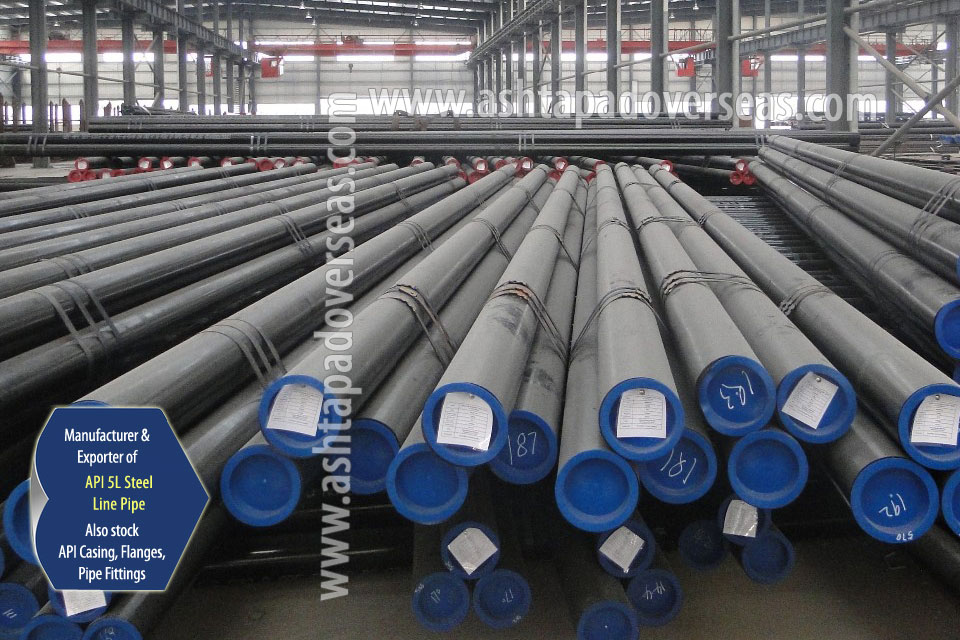 API 5L X56 DSAW Pipe ready stock in our Stockyard