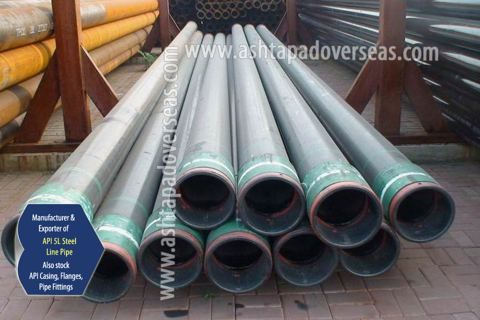API 5L X56 Pipe ready stock in our Stockyard