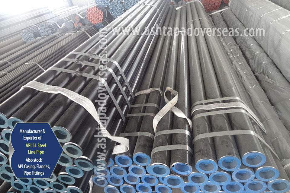 API 5L X56 Seamless Pipe ready stock in our Stockyard