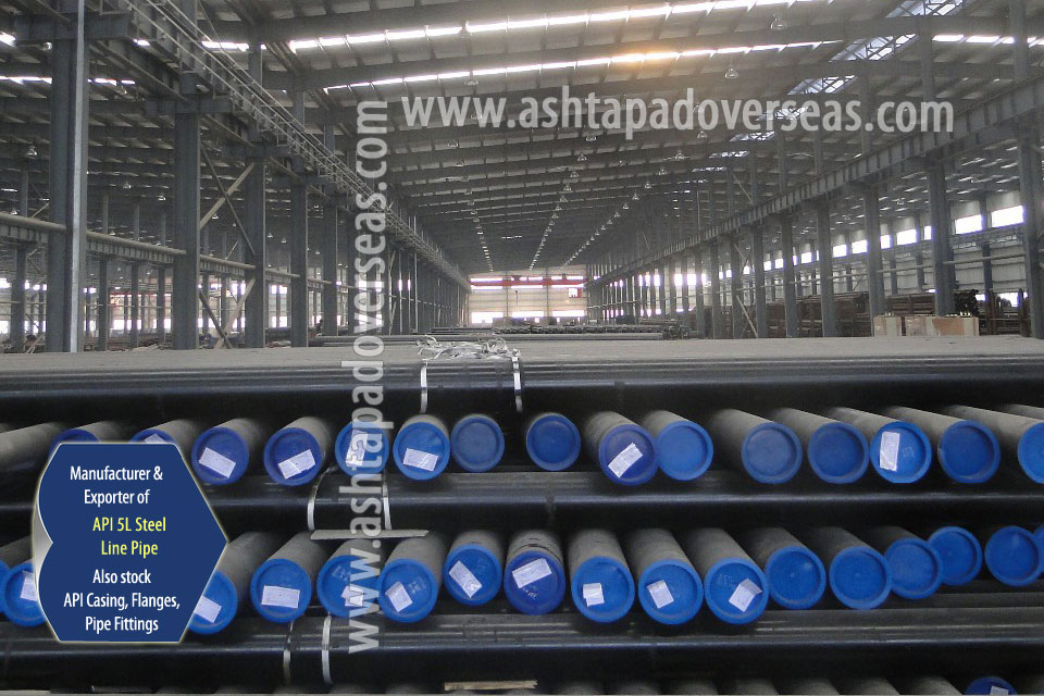 API 5L X56 Welded Pipe ready stock in our Stockyard