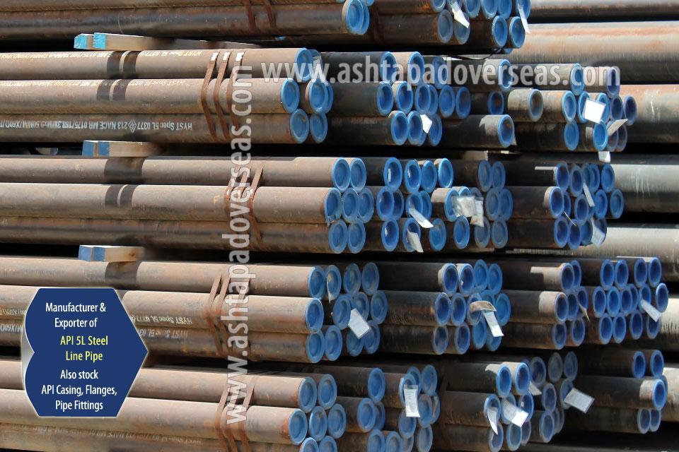 API 5L X60 DSAW Pipe ready stock in our Stockyard