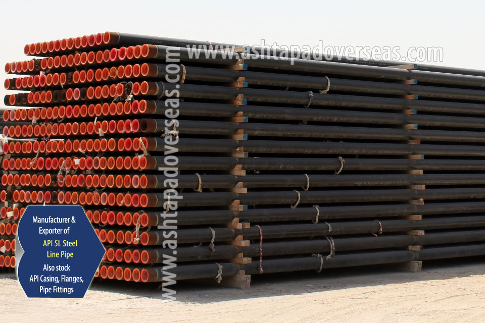 API 5L X60 Line Pipe ready stock in our Stockyard