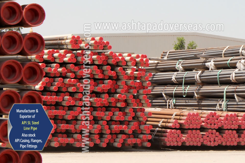 API 5L X60 Pipe ready stock in our Stockyard