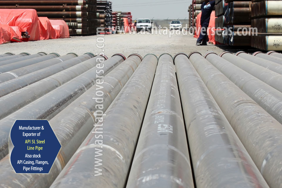 API 5L X60 Seamless Pipe ready stock in our Stockyard