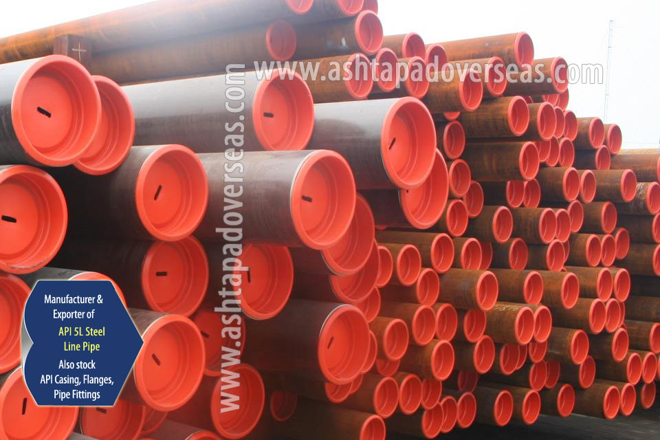 API 5L X65 Pipe ready stock in our Stockyard