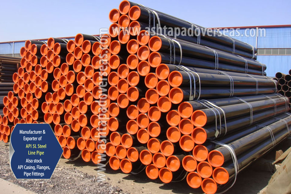 API 5L X65 SAW Pipe ready stock in our Stockyard