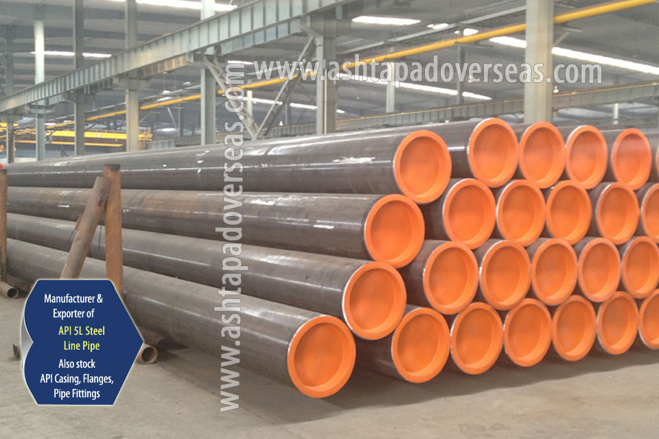 API 5L X65 SSAW Pipe ready stock in our Stockyard