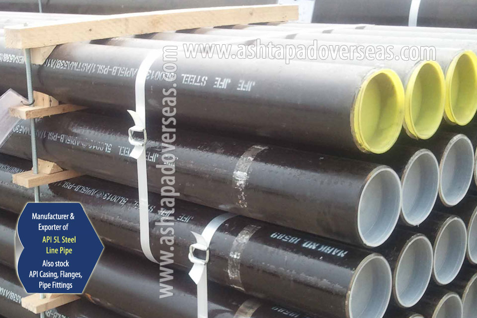 API 5L X65 Welded Pipe ready stock in our Stockyard