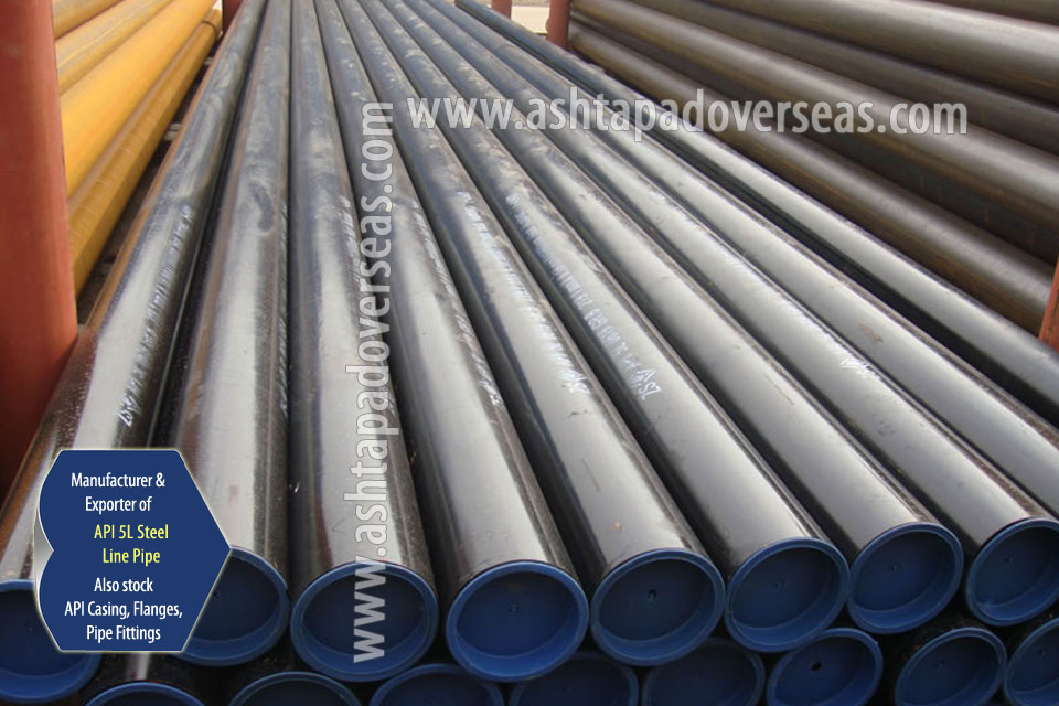 API 5L X70 DSAW Pipe ready stock in our Stockyard