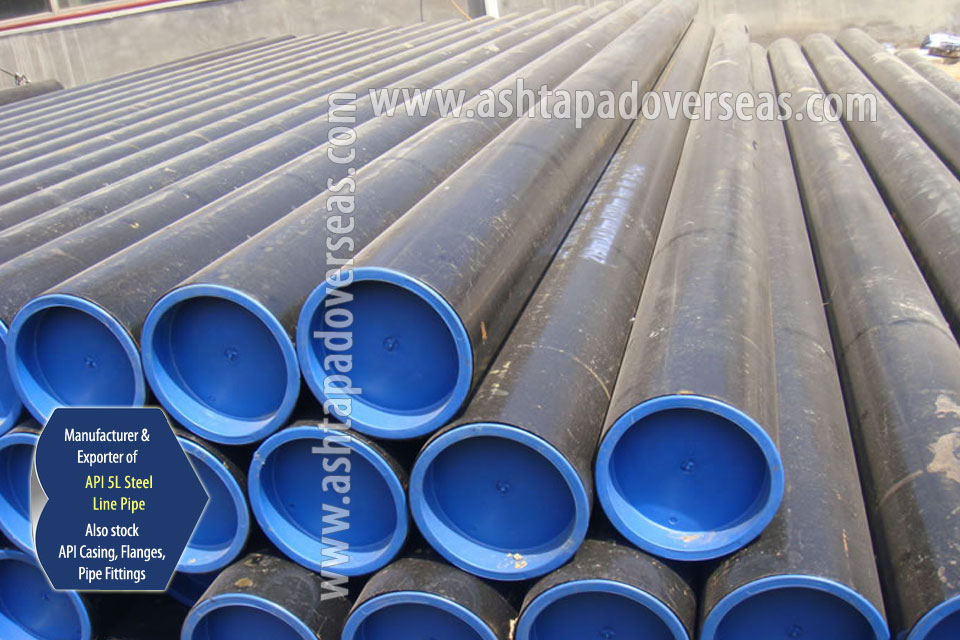 API 5L X70 Line Pipe ready stock in our Stockyard