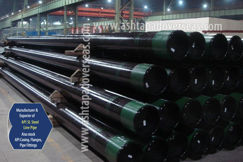 API 5L X70 LSAW Pipe ready stock in our Stockyard