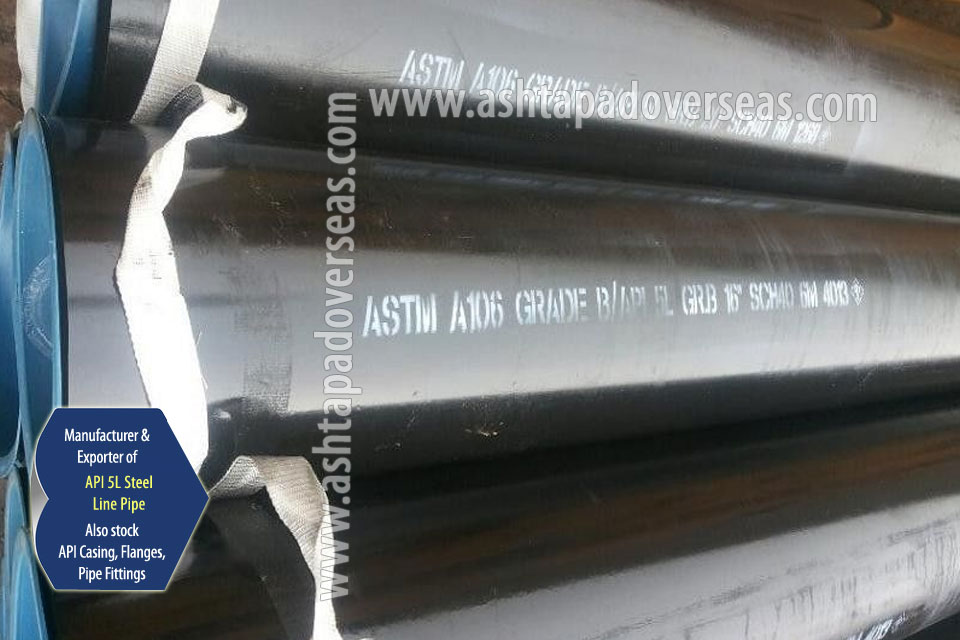 API 5L X70 Pipe ready stock in our Stockyard