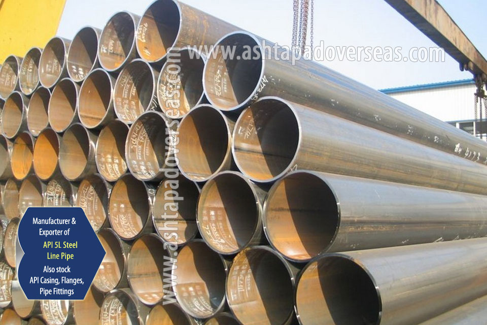 API 5L X70 SAW Pipe ready stock in our Stockyard