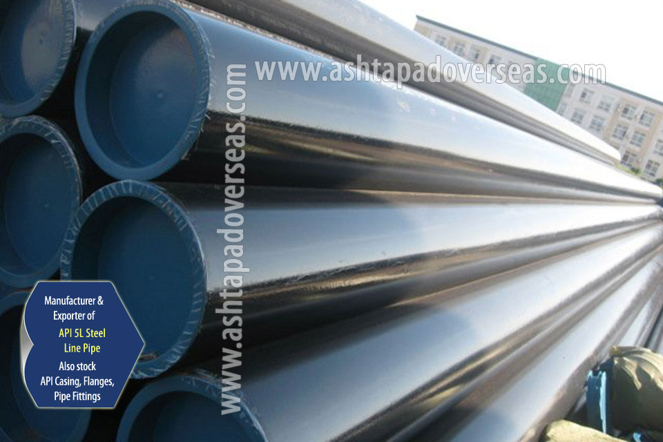 API 5L X70 Seamless Pipe ready stock in our Stockyard