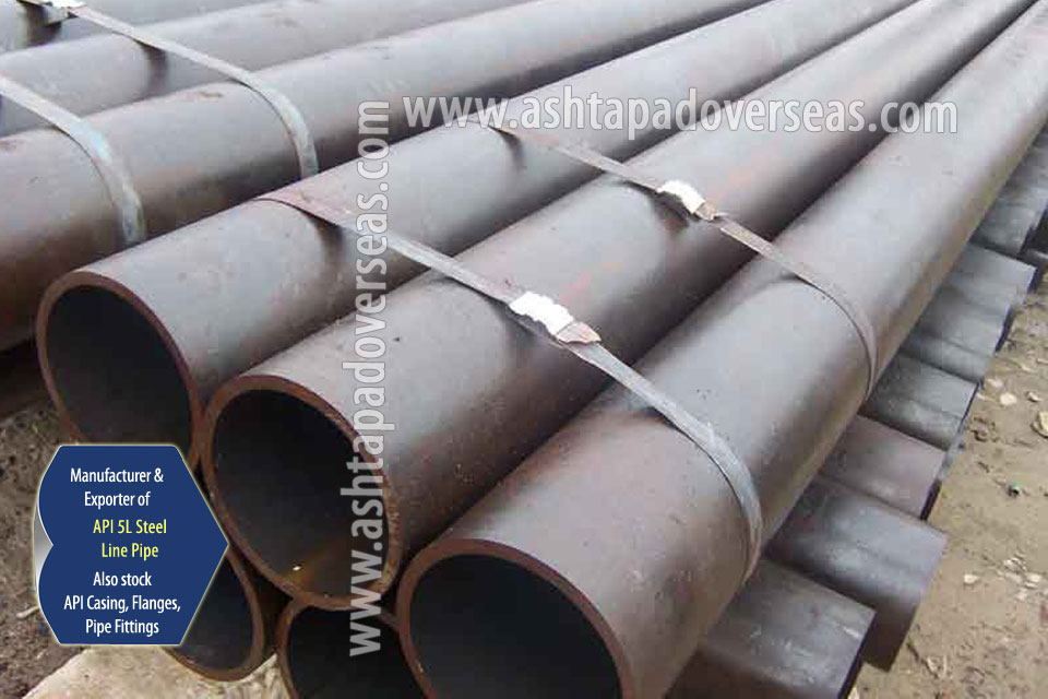 API 5L X80 DSAW Pipe ready stock in our Stockyard